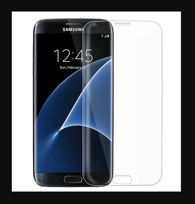 $ CDN5.13 • Buy Samsung Galaxy S7 Edge Full Cover Tempered Curved Glass CLEAR Screen Protector