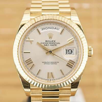 $ CDN52833.41 • Buy Rolex Day Date 40 - Unworn With Box And Papers April 2021 Stickered