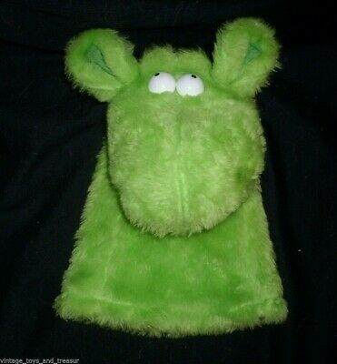 £14.10 • Buy 12  Vintage 1981 Crazy Critters Green Hand Puppet Stuffed Animal Plush Toy