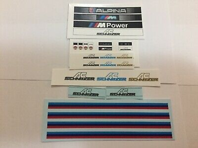 £4 • Buy 1/18 Scale Modified Tuning BMW & SCHNITZER Decals