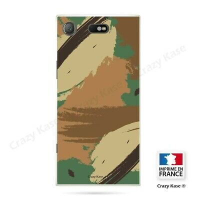 AU14.15 • Buy Cover For Sony Xperia XZ1 Compact Flexible Pattern Camouflage
