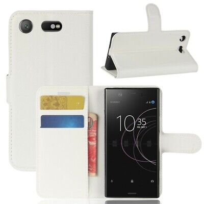 AU24.39 • Buy Case For Sony Xperia XZ1 Compact Card Holder White