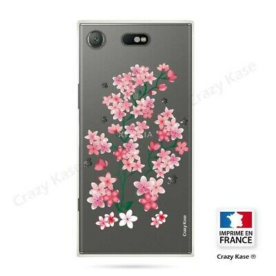 AU17.84 • Buy Cover For Sony Xperia XZ1 Compact Flexible Pattern Flowers Sakura