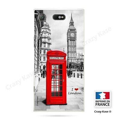 AU14.15 • Buy Cover For Sony Xperia XZ1 Compact Flexible Pattern London