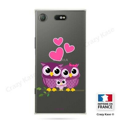AU17.84 • Buy Cover For Sony Xperia XZ1 Compact Flexible Pattern Family Owl