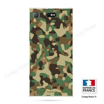 AU17.84 • Buy Cover For Sony Xperia XZ1 Compact Flexible Pattern Camouflage Military