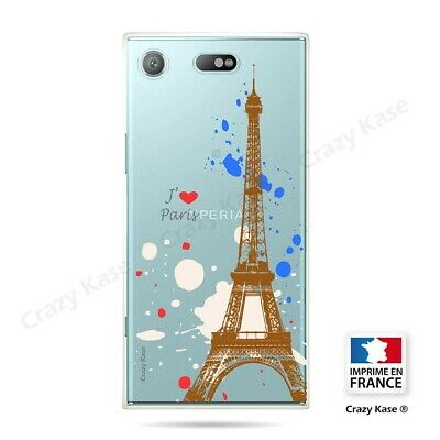 AU14.15 • Buy Cover For Sony Xperia XZ1 Compact Flexible Paris
