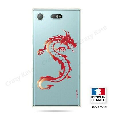 AU17.84 • Buy Cover For Sony Xperia XZ1 Compact Flexible Dragon Red