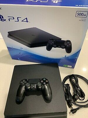 AU137.50 • Buy Sony PlayStation 4 Slim 500GB Black Console
