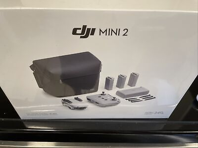 AU700.62 • Buy Brand New Dji Mavic Mini 2 - 4k Drone - Fly More Combo
