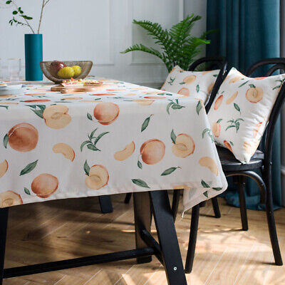 AU12.33 • Buy Waterproof Table Cloth Cover Rectangle Tablecloth For Kitchen Dining Table Decor