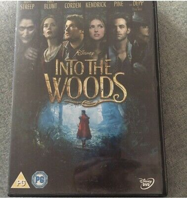 £5 • Buy Into The Woods Dvd