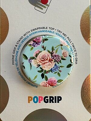 AU14.03 • Buy POPSOCKETS•POPGRIP•Retro Wild Rose•Swappable Top•White Base•Free Shipping
