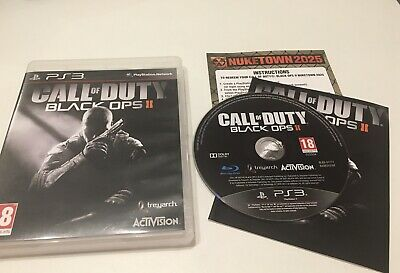 £7.99 • Buy Call Of Duty Black Ops 2 PS3 COD Black Ops II PlayStation 3 Game Free Post