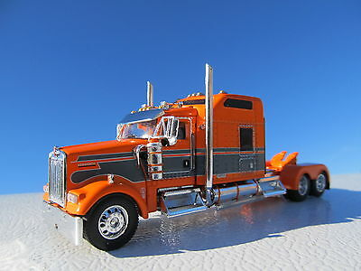 $ CDN119.79 • Buy Dcp 1/64 Scale W-900 Kenworth Studio Sleeper Orange With Gray Seminole Stripe
