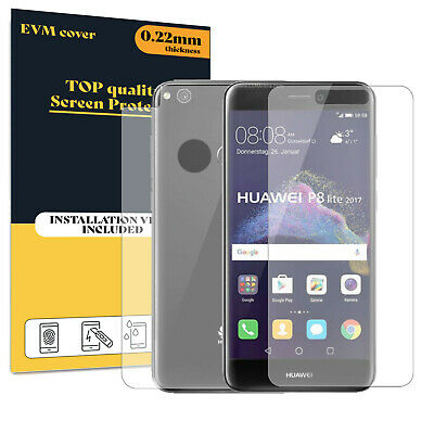 £5.99 • Buy Screen Protector For Huawei P8 Lite 2017 Front And Back TPU FILM Cover