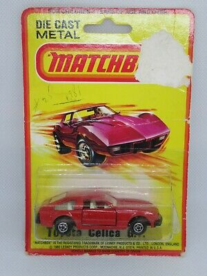 AU26.51 • Buy Matchbox Superfast 77a Toyota Celica GT - Red - Mint/Boxed