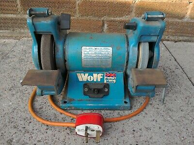 Wolf 6  / 150mm Bench Grinder Grinding Tool / Drill - 240v • 25£