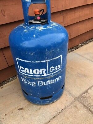 Calor Gas (Butane) Empty 15kg Bottle. Collection @ Newtown Powys • 4£