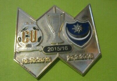 £5.50 • Buy Cambridge United Portsmouth Limited Edition 2015.16 Brand New Silver Badge