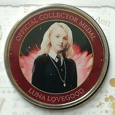 Luna Lovegood - *rare* - Harry Potter Medal Collection Official Wizarding World  • 12.95£