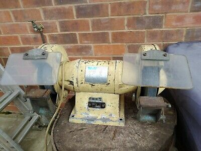 WOLF Bench Grinder - Used - Good Working Condition  - Heavy Duty Industrial • 65£