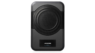 AU349 • Buy Alpine PWE-S8 Compact Powered 8-Inch Subwoofer