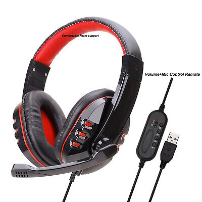 £12.98 • Buy Deluxe Headset Headphone With Microphone + Volume Control For Playstation 3 Ps3