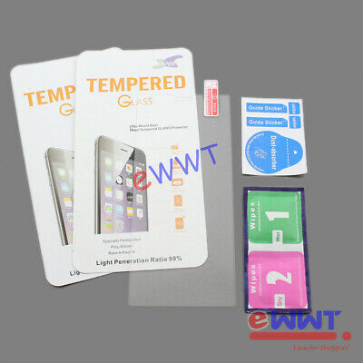 AU3.94 • Buy 2x For Sony Xperia XZ2 H8216 Clear FLAT Tempered Glass Screen Protector DQSQ819