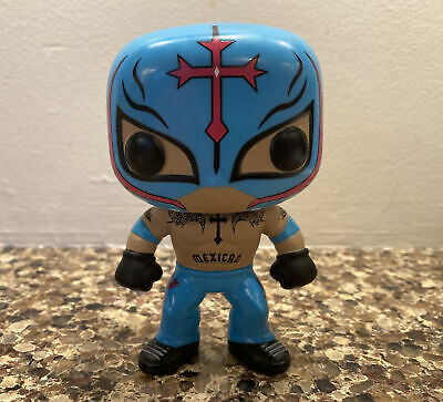 AU95.64 • Buy Funko Pop 7-Eleven  Rey Mysterio #6 Jr. Loose