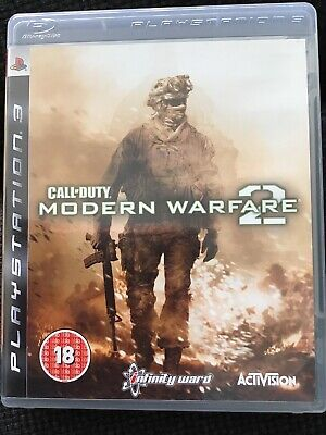 Call Of Duty Ps3 Modern Warfare 2 With Instructions • 3.99£