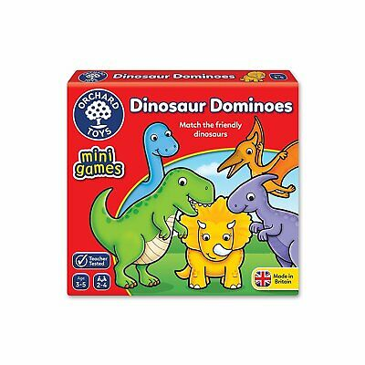 £6.68 • Buy Orchard Toys 353  Match The Friendly Dinosaur  Dominoes Game