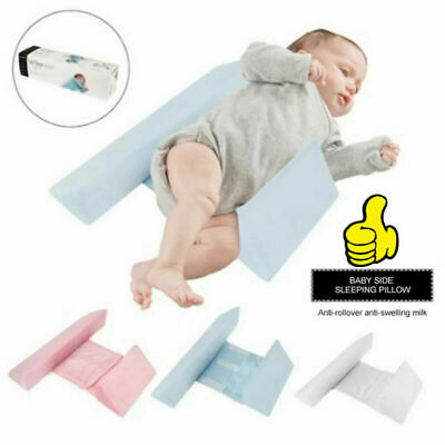 £9.99 • Buy Adjustable Baby Side Sleep Pillow Wedge Newborn Infant Anti-roll Cushion Support