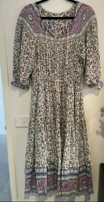 AU150 • Buy Spell And The Gypsy X Revolver Dahlia Midi Dress Size Small