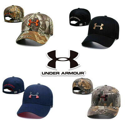 £7.69 • Buy Under Armour Baseball Cap Sport Adjustable Mens Womens Golf Summer Hat One Size