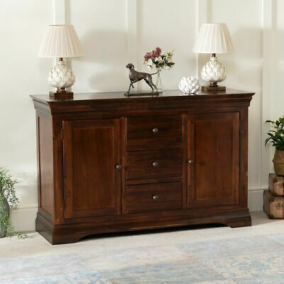 £349 • Buy French Hardwood Mahogany Stained Large Sideboard-SLIGHT SECONDS- HW20-F430