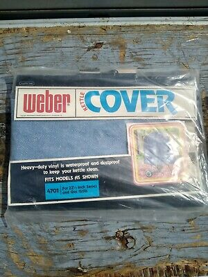 $ CDN60.46 • Buy Vintage Weber Grill Kettle Cover Never Used 1978 No 4701 22 1/2   Grills