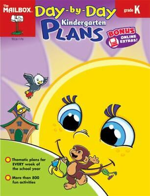 $5.82 • Buy Day-by -Day Kindergarten Plans By The Mailbox Books Staff