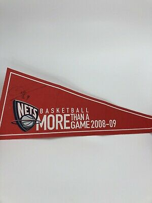 AU31.91 • Buy New Jersey Nets NBA Devin Harris Autograph Signed Pennant RARE 2009