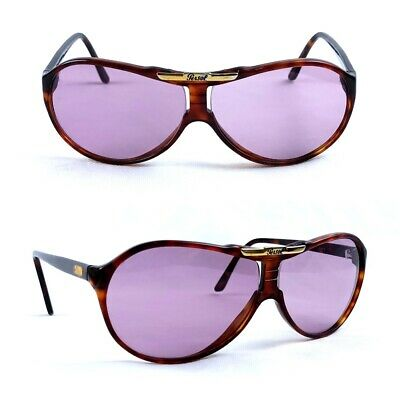 AU444.92 • Buy Persol 0696 Ratti Sunglasses Vintage Over Size Genuine Italy With Original Case
