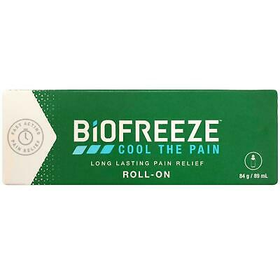 £8.95 • Buy Biofreeze Pain Relieving Roll On 89 Ml Cryotherapy The Cold Method