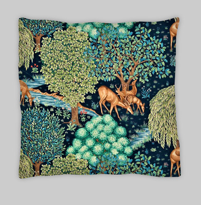 £7.99 • Buy William Morris Style  Double Sided Cushion Covers 45x45cm (18X18)