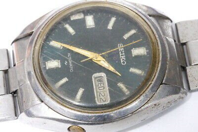 $ CDN21.29 • Buy Seiko 7009-8210 Japan BE Automatic Watch For Repairs Or For Parts  -12972