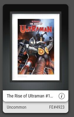 $125 • Buy VeVe NFT Rise Of Ultraman Uncommon Yuji Kaida #4923 Sold Out! Fast Transfer ⚡️