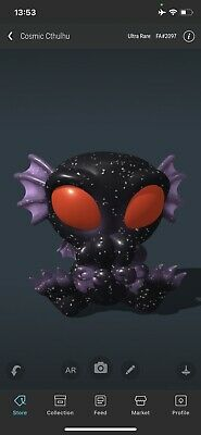 $167.50 • Buy VeVe NFT - Cryptkins ULTRA RARE Cosmic Cthulhu, Sold Out! #2097/2800