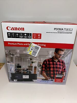 AU225.38 • Buy NEW Canon PIXMA TS8322 All-In-One Wireless Color Inkjet Photo Printer SEALED