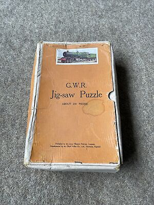 £30 • Buy Chad Valley Not Victory GWR Jigsaw. King George V.200 Pieces,Complete With Box.