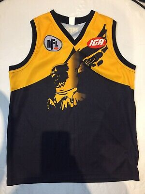 AU39.95 • Buy NFL Eagles IGA WFC Spell Out XL Jersey Australian Made Clean Condition #17 Footy