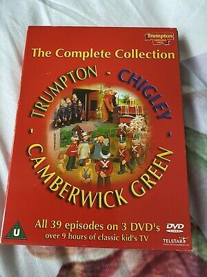 £19.99 • Buy Trumpton - Chigley - Camberwick Green The Complete Collection[DVD] [1969] [2002]