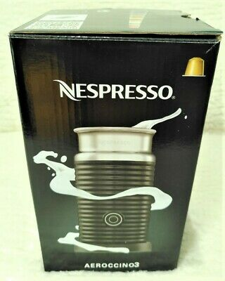 £30 • Buy Nespresso Aeroccino 3 Milk Frother Black